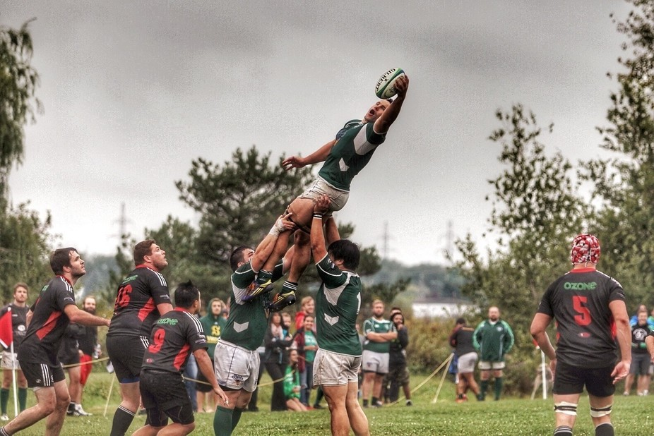 I used to play for the Montreal Irish Rugby Football Club. Now that I'm too old and batt...