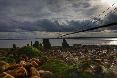 Humber Bridge from Hessle Shore