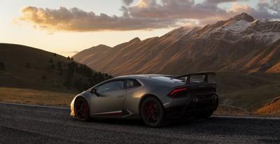 Lamborghini Huracan In Its Natural Environment