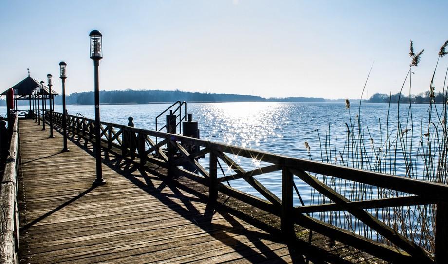 Blick auf den See in Neuruppin