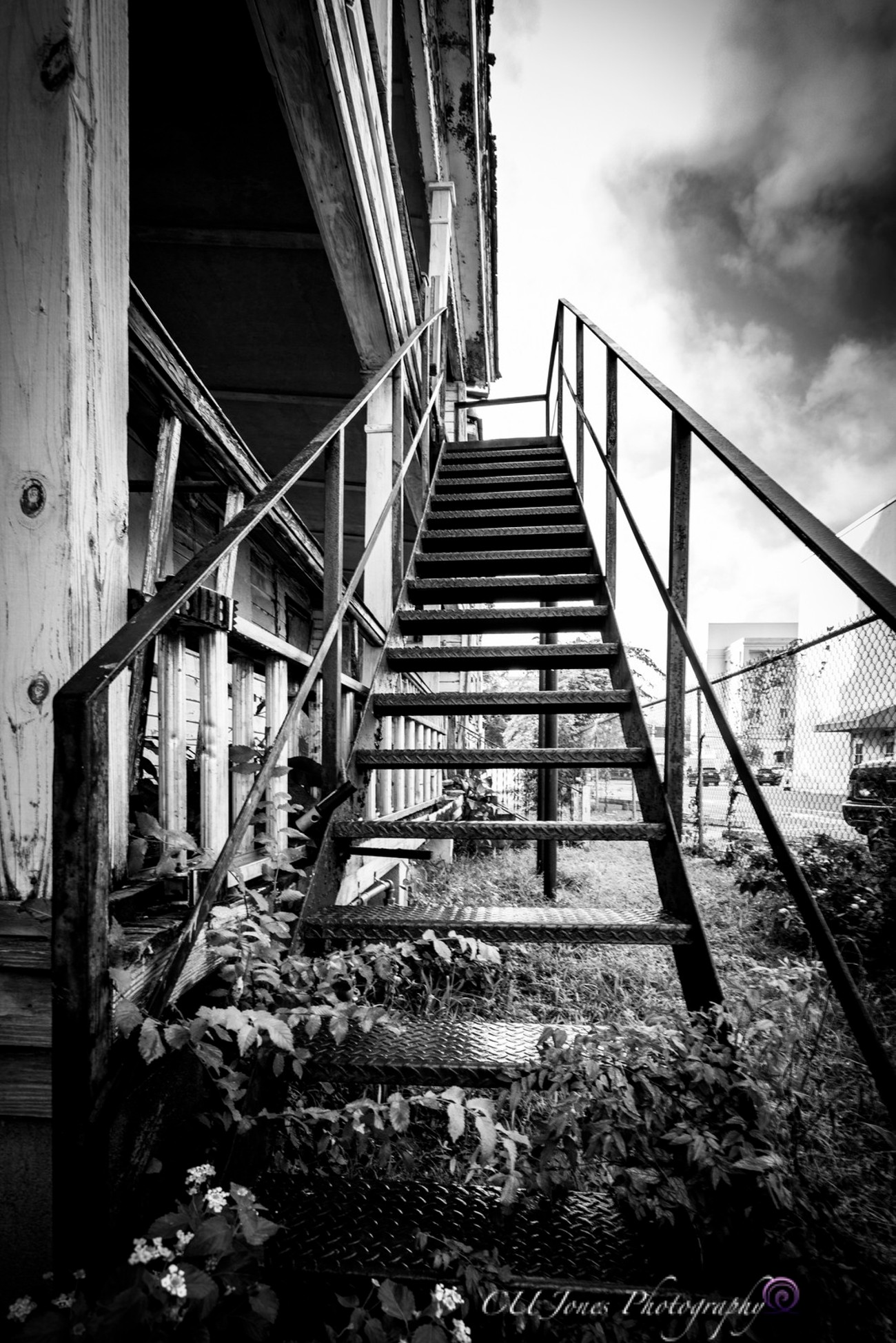 Stairs leading to somewhere