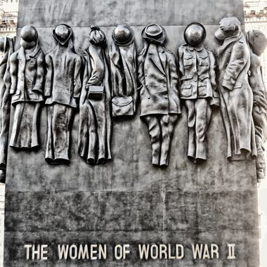 Monument to Women of WW2.