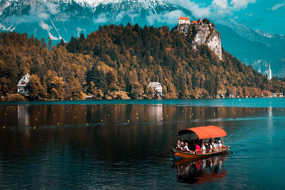 One of my favourites form a romantic weekend in Bled, Slovenia. Taken as we were arriving to the ...