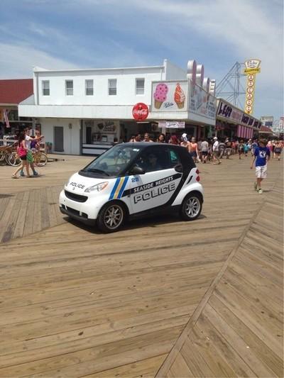 Boardwalk policrcar