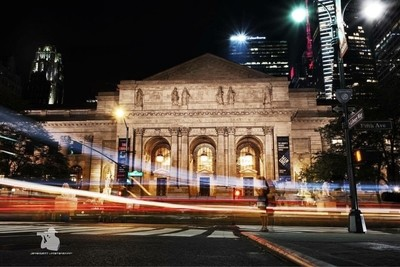 Stop by the fourth largest library in the world - New York Public Library.