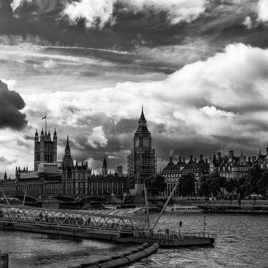 London in B/W