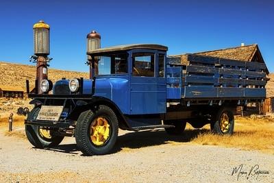 Old Truck in Bodie - California