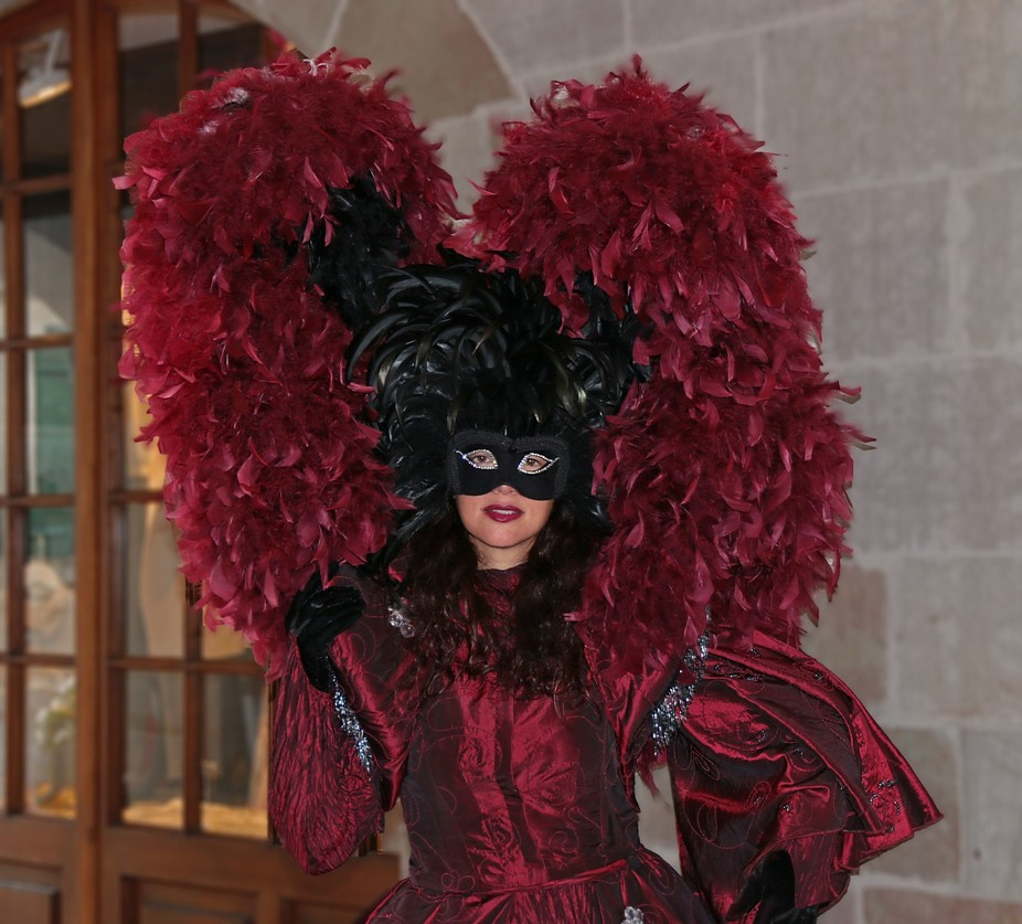 The village of Coppet, on the shores of Lake Geneva, held their own version of the Venetian Carnival