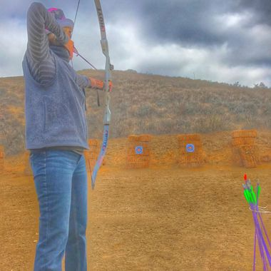 Girl archer!