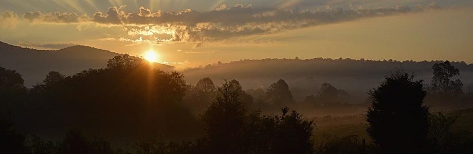 Sun Rise Panorama