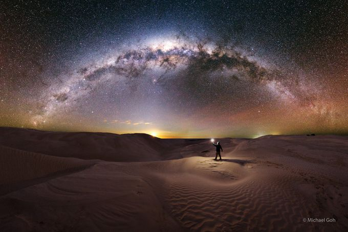The Journey by Astrophotobear - Landscapes And Sand Photo Contest