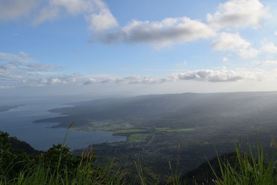Part of the scenery of the lake taken from Tagaytay, Batangas, Phils.