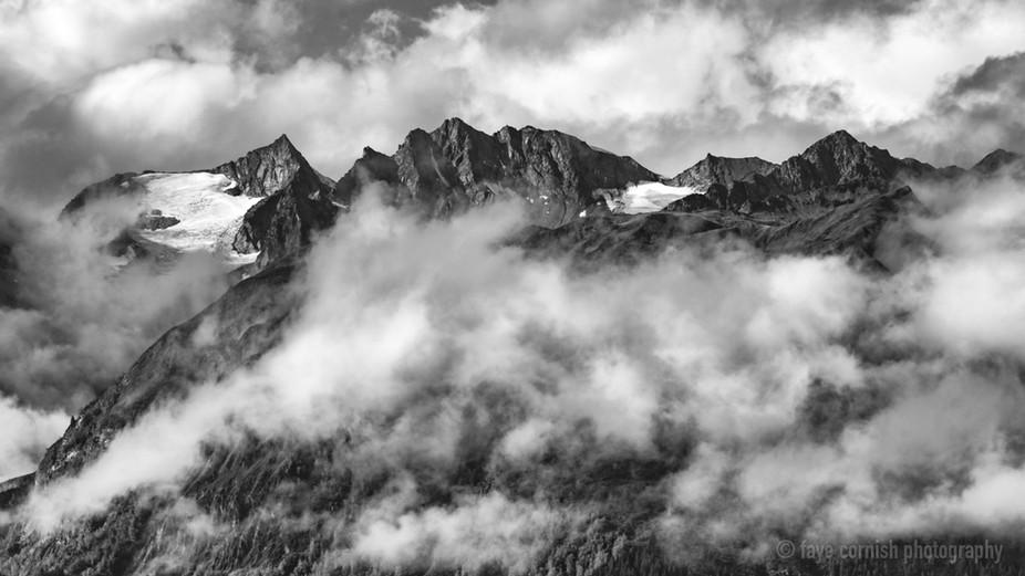 Alaska Mountain Range