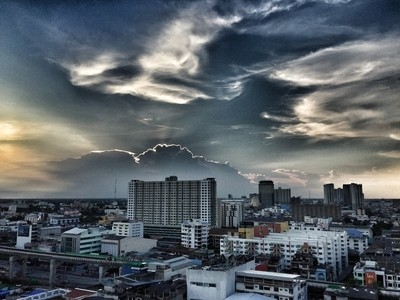 Dramatic Sunset Skies