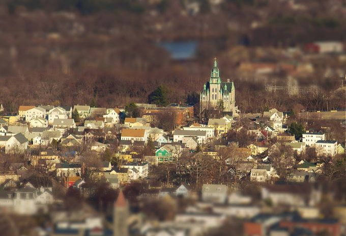 Nashua, NH by deannefortnam - TiltShift Effect Photo Contest