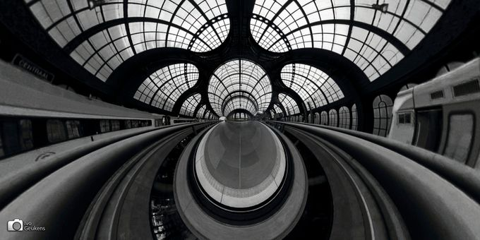 rearranged paterns by Ivo_Geukens - Spirals And Composition Photo Contest