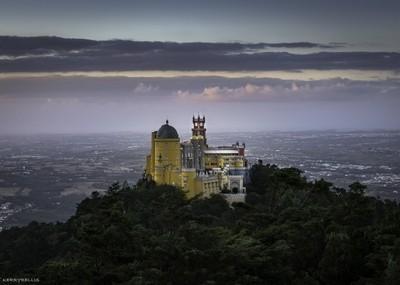 Pena Palace Sunset 1