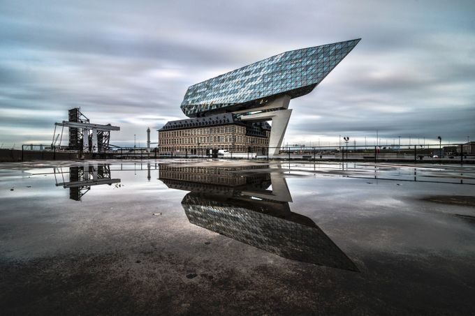 Havenhuis by svennobels - Architecture And Reflections Photo Contest