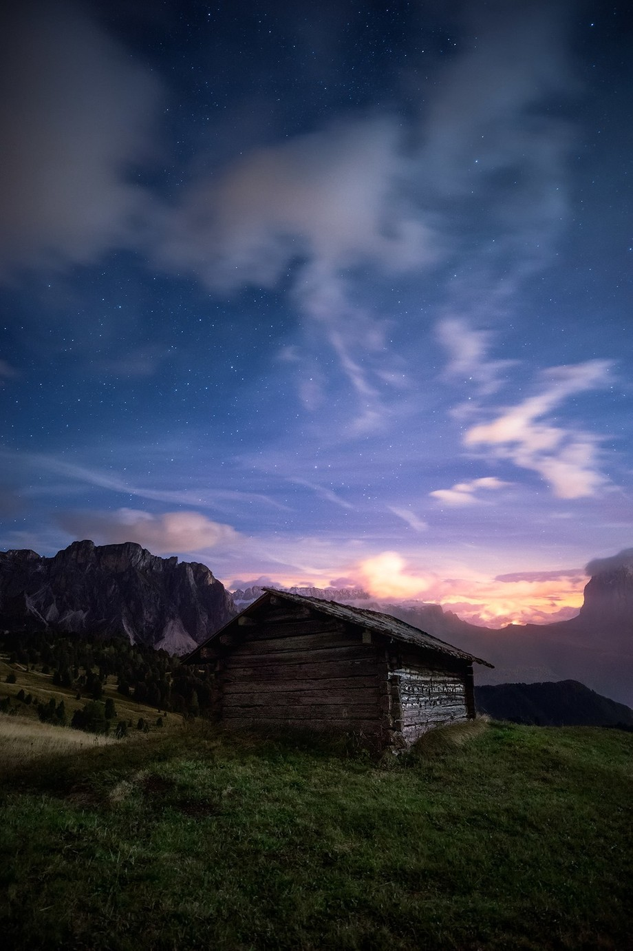 Night in the Mountains by Mbeiter - Covers Photo Contest Vol 42