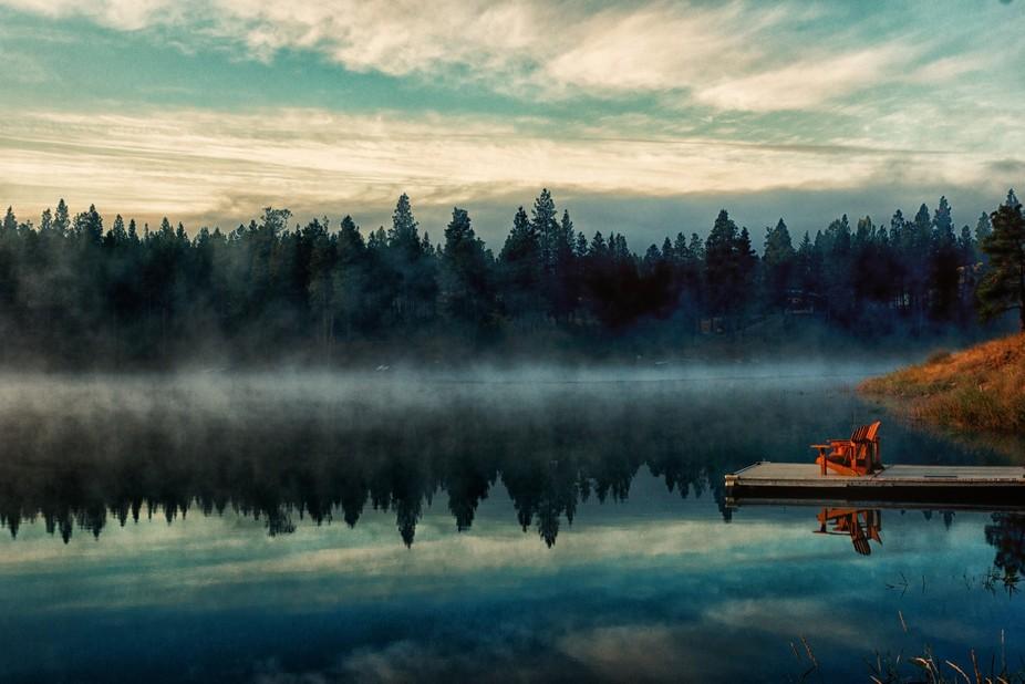 Morning at Tetrault Lake Montana