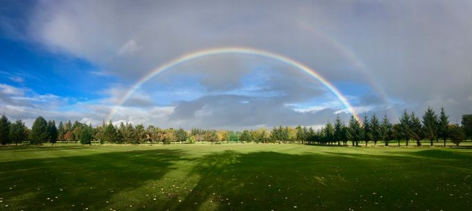 wide one by alekseisolovjov - Rainbows Overhead Photo Contest