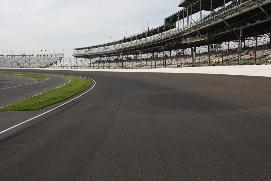 Turn one at Indianapolis