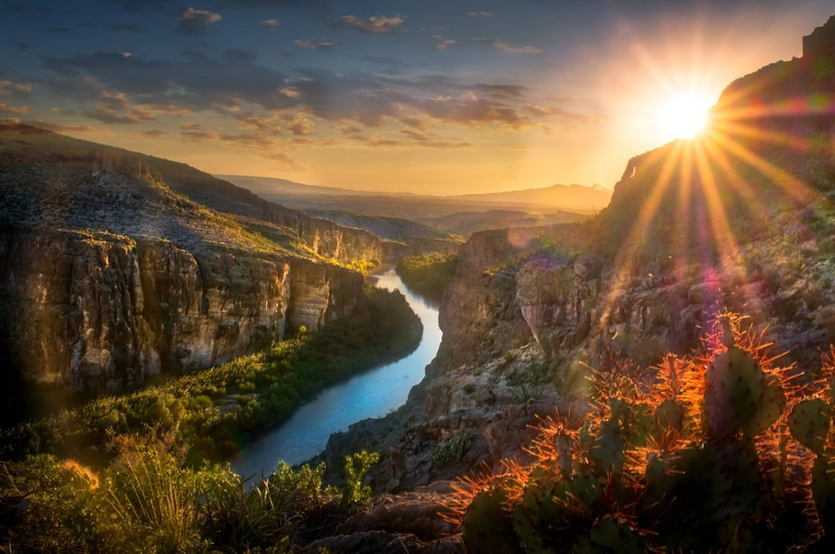 Big Bend Rio Grande Overlook Favorite