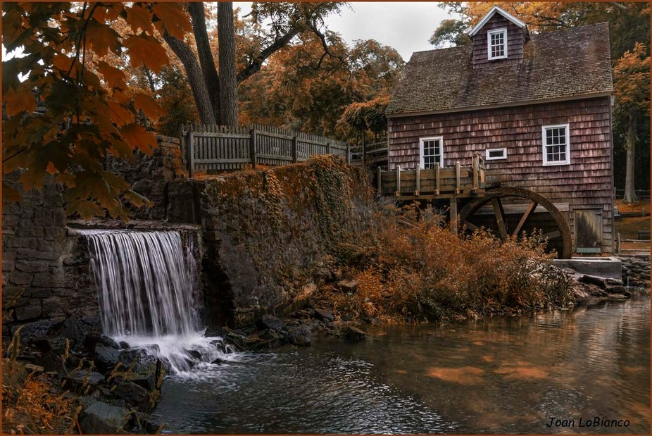 The Grist Mill in Stony Brook on Long Island in New York always makes for a great photo. Each tim...