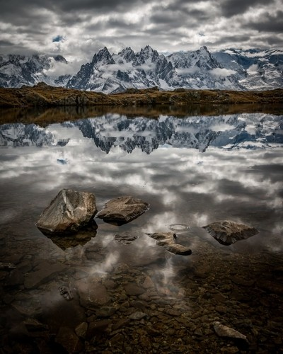 Lac Chesery Reflection