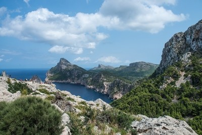 On the way to Formentor