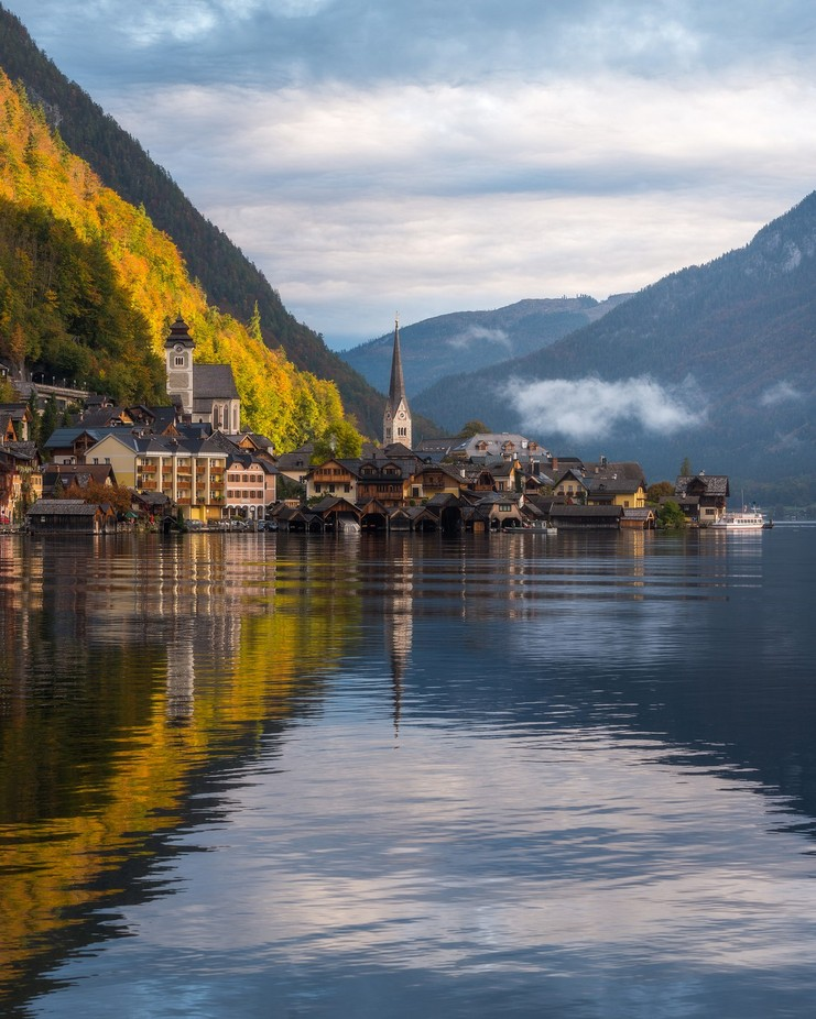 Good Morning Hallstatt by philipslotte - Cities By The Water Photo Contest