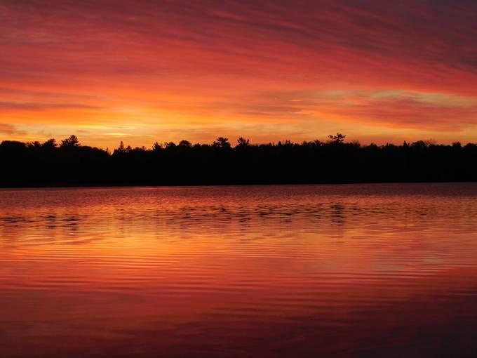 Taken on Rainy Lake, Ontario, Canada