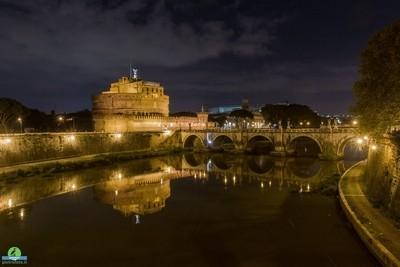 Castel Sant Angelo di notte