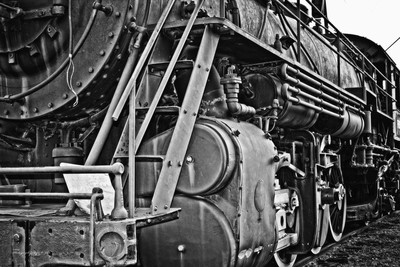 Frisco Boiler Locomotive