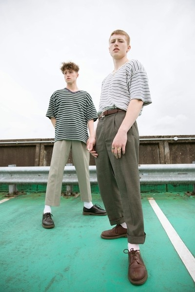 'Reminiscence' -- Louis and Felix Lang -- all vintage clothes styles by Ellie Dawson