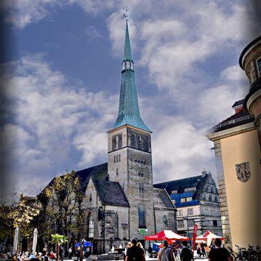 Church in Hameln, Germany.