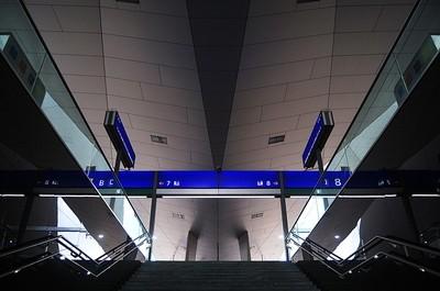 Wien Hbf - Staircase