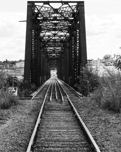 Prince Albert rail bridge