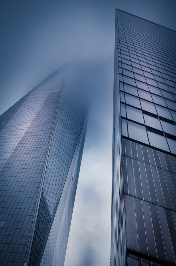 A Foggy Disappearance by vanOgtropPhotography - Fog And City Photo Contest