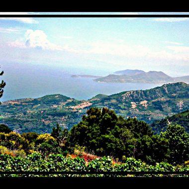 View from Mt Karvounis, Samos