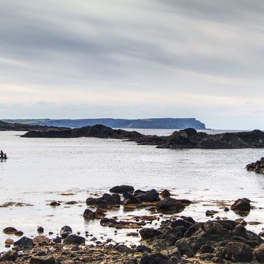 I took this photo when me and my wife visited Ireland, in the year 2017. We went to Ballintoy Harbour which was one of the places filmed for the TV series Game of Thrones. This was one of the photos I took on that day.