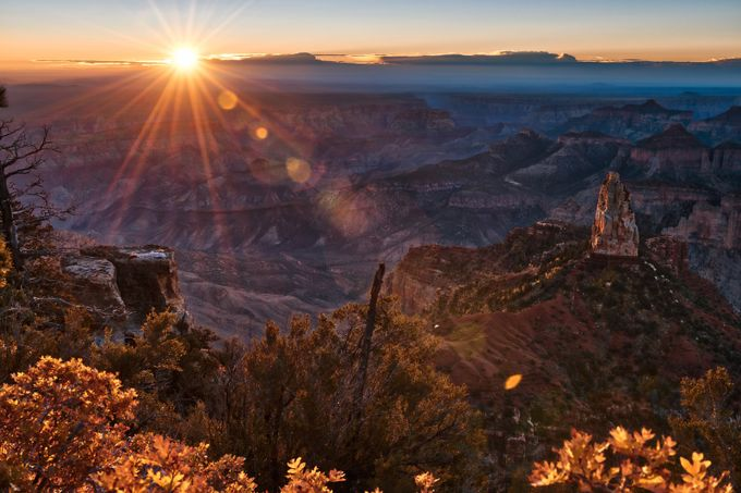 Sunrise over Grand Canyon at the North Rim by ChasingLightLikeMad - Social Exposure Photo Contest Vol 12