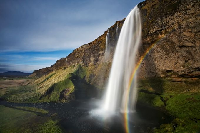 Seljalandsfoss by BRIN - Rainbows Overhead Photo Contest
