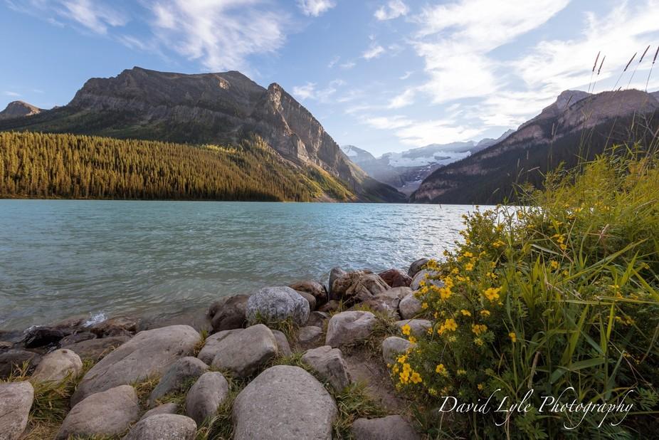 Beautiful Lake Louise in Banff National Park.