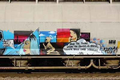 Very Poetic Railcar.