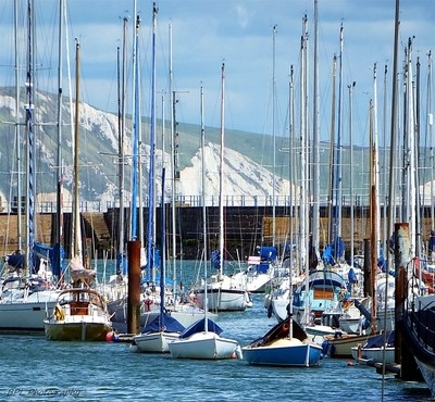 Moored in Weymouth Harbour