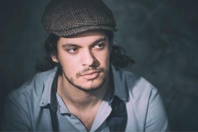 Andreas in the studio
