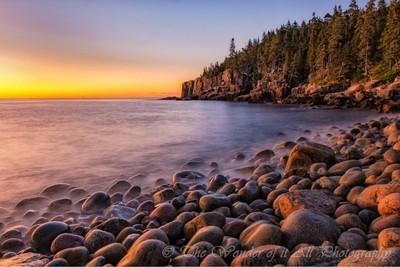 Bolder Beach. Acadia National Patk