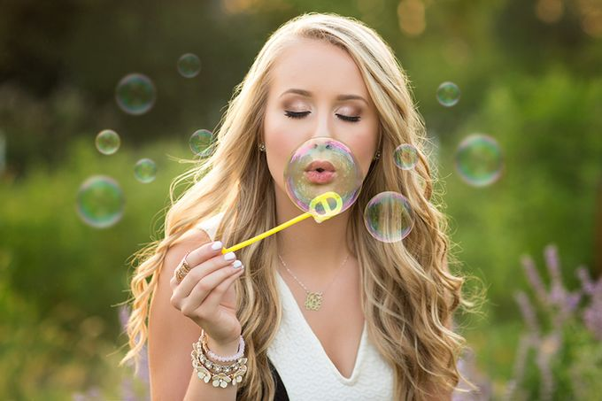 33 Happy Shots Of Bubbles In The Air
