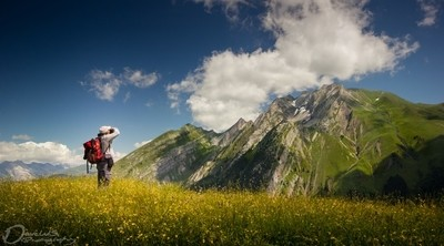 Shooting in the Alps